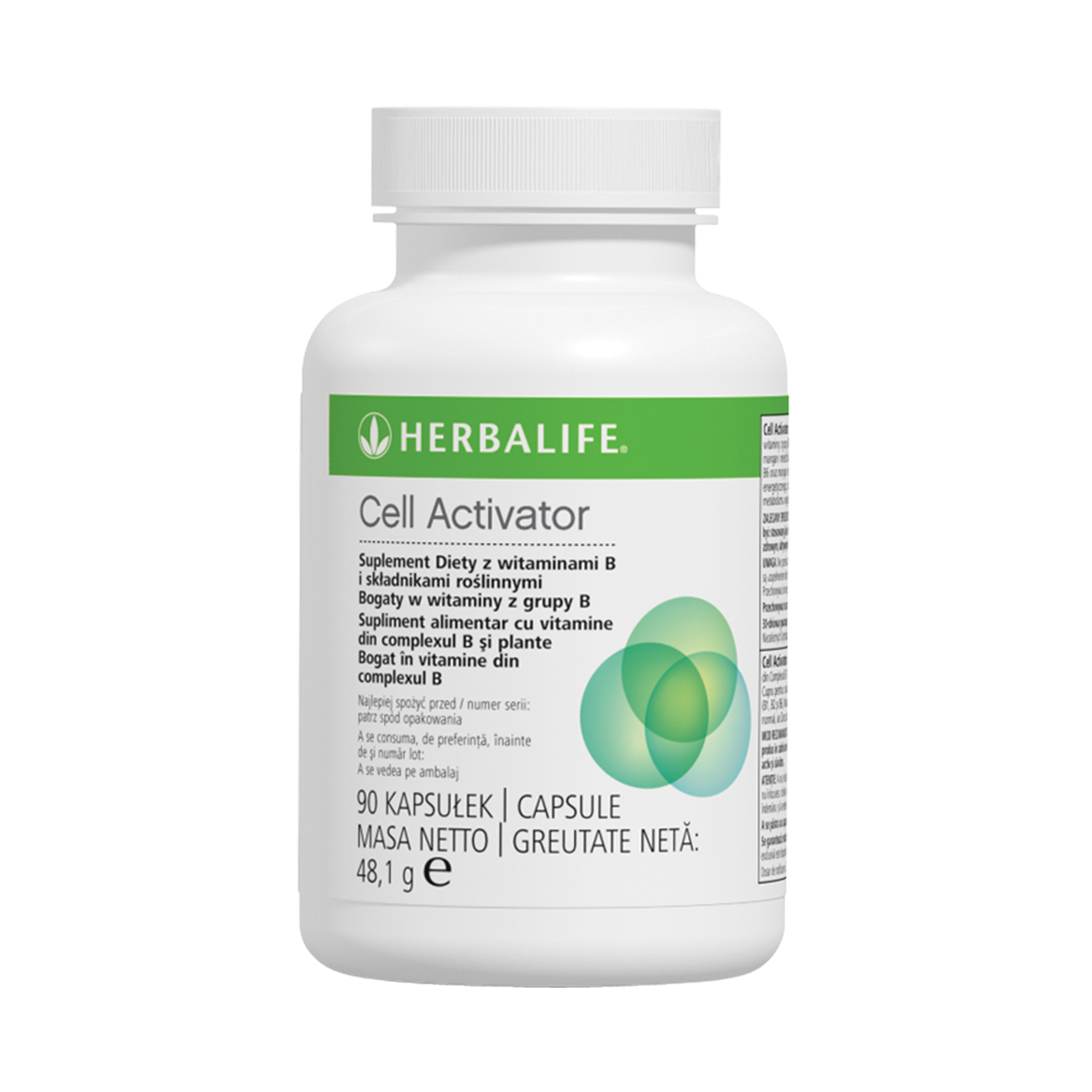 Cell Activator Supliment alimentar product shot