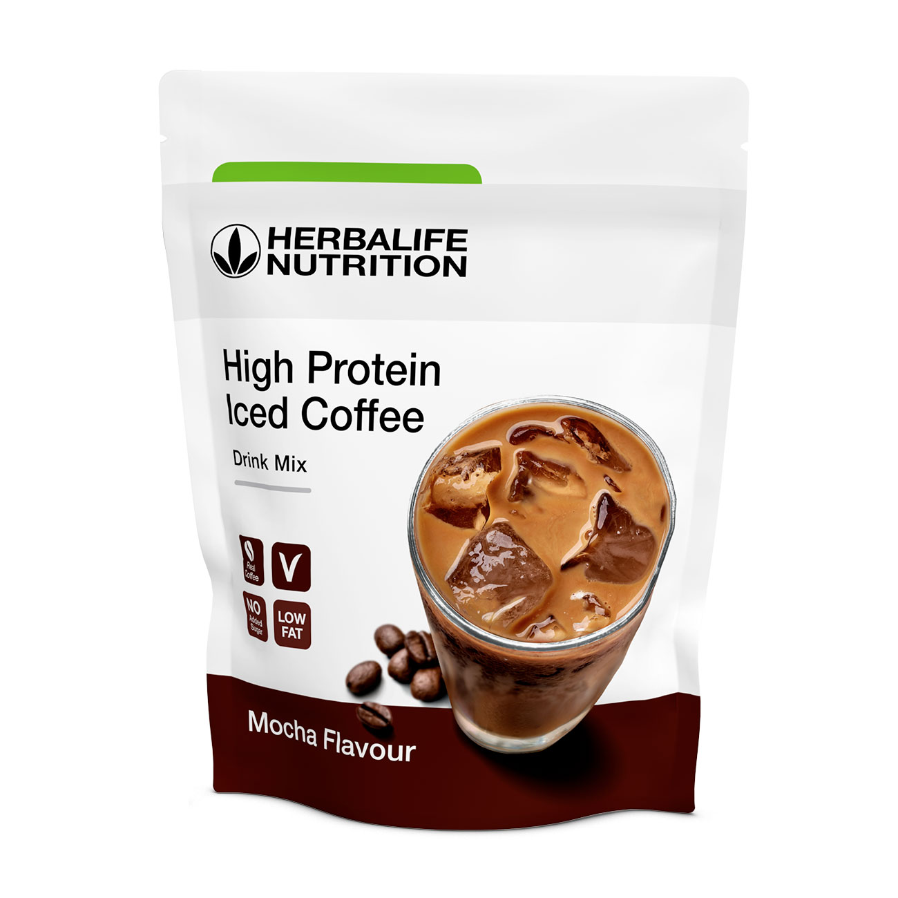 High Protein Iced Coffee  Mocha product shot