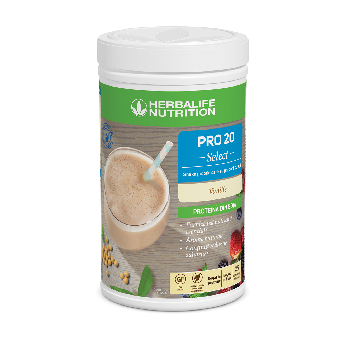 PRO 20 Select Shake proteic Vanilie product shot